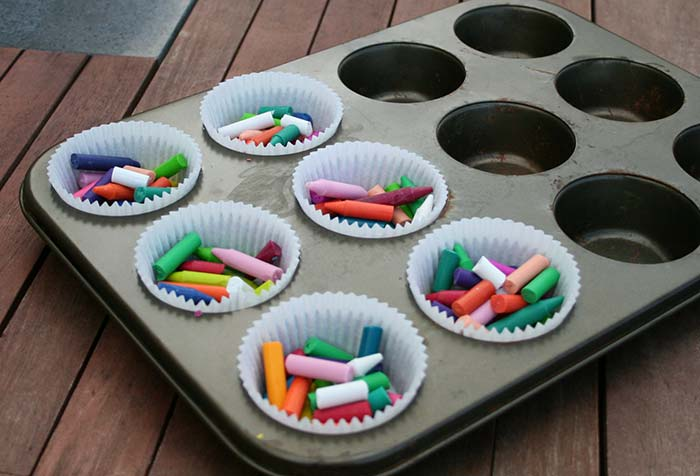 Recycle-Crayons