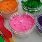 Home Made Shaving Cream Paint