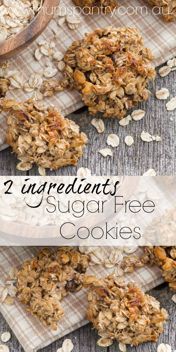 2 ingredient sugar free cookies