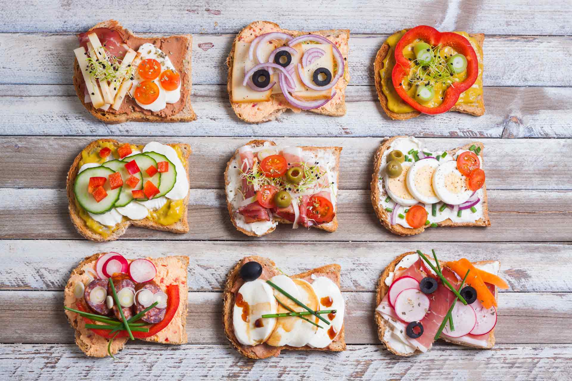 Awesome Sandwich Toppings
