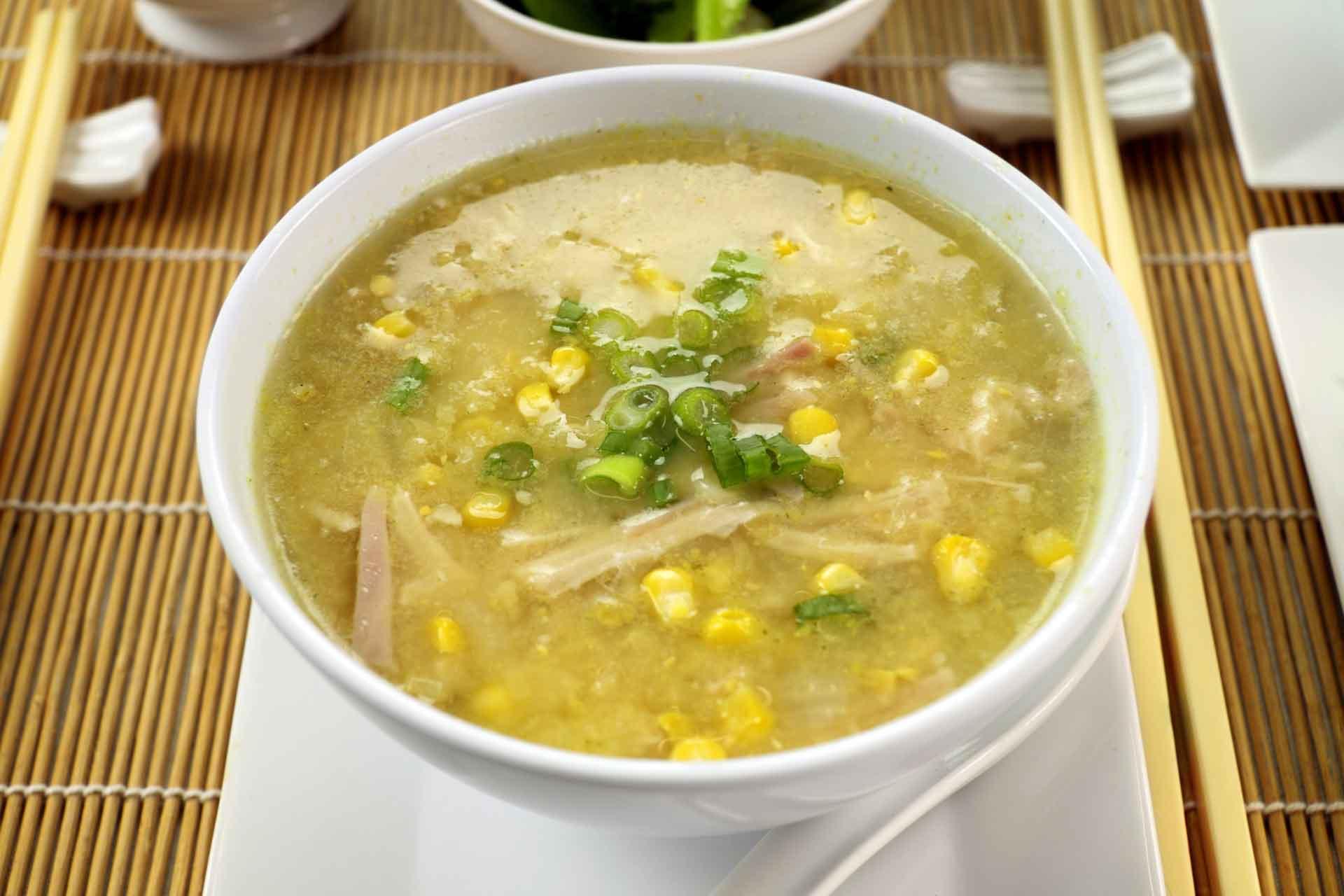 Кукурузный суп рецепт с курицей