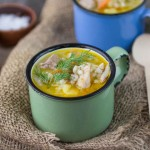 Hearty Curry Chicken And Barley Soup