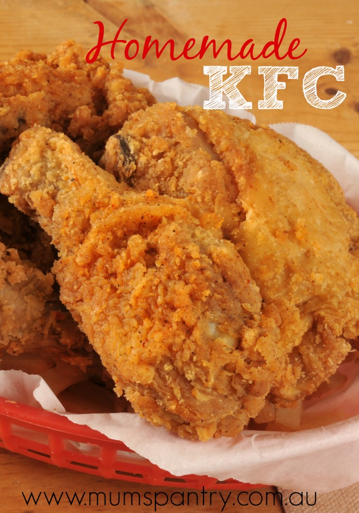 how to prepare kfc chicken at home