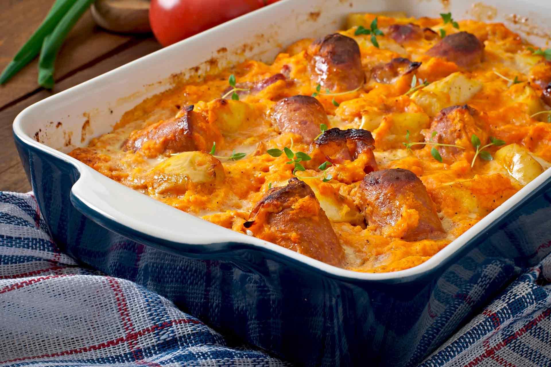 Sausage Casserole Recipe — Dishmaps