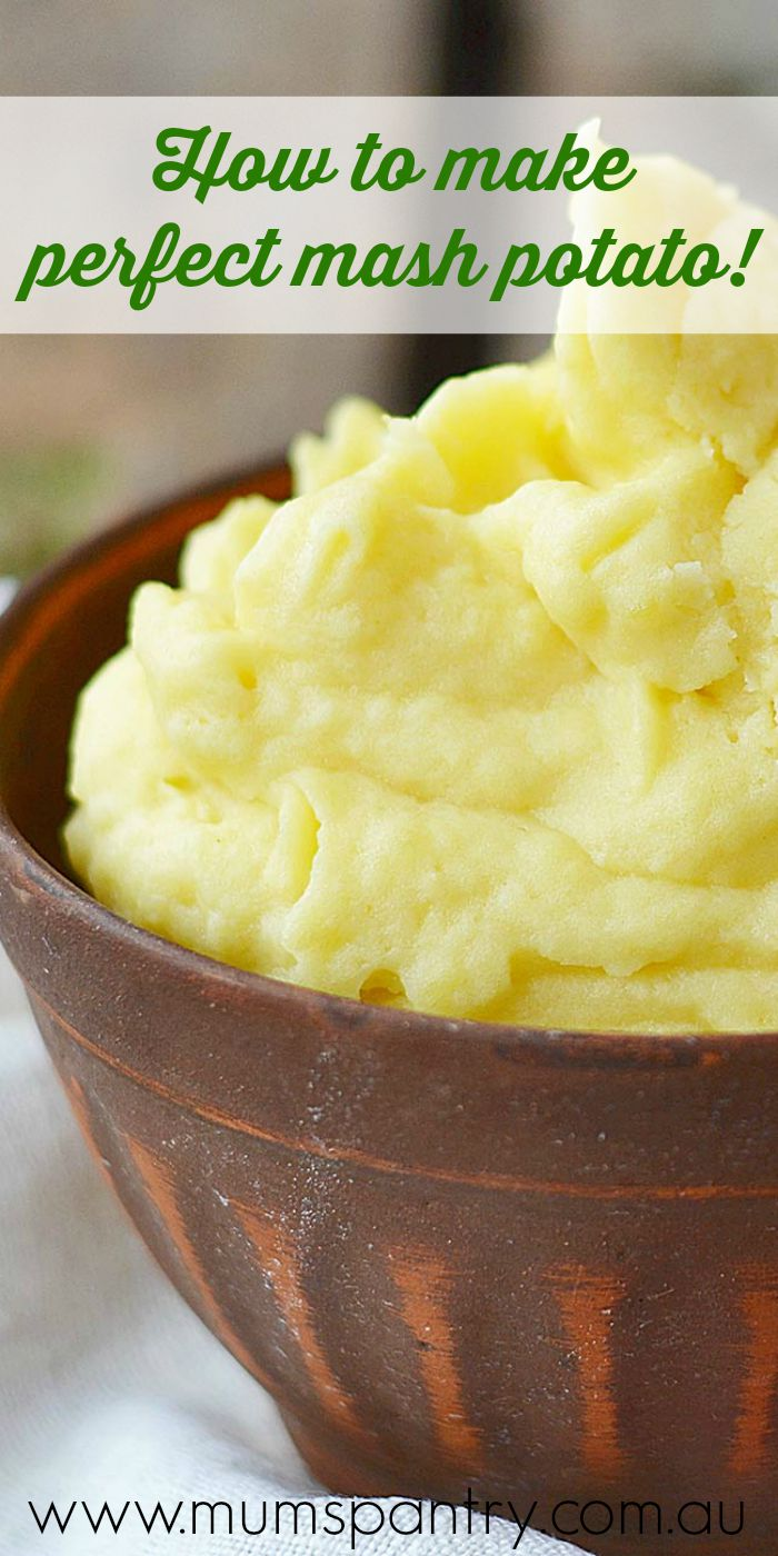 how to make perfect mash potato