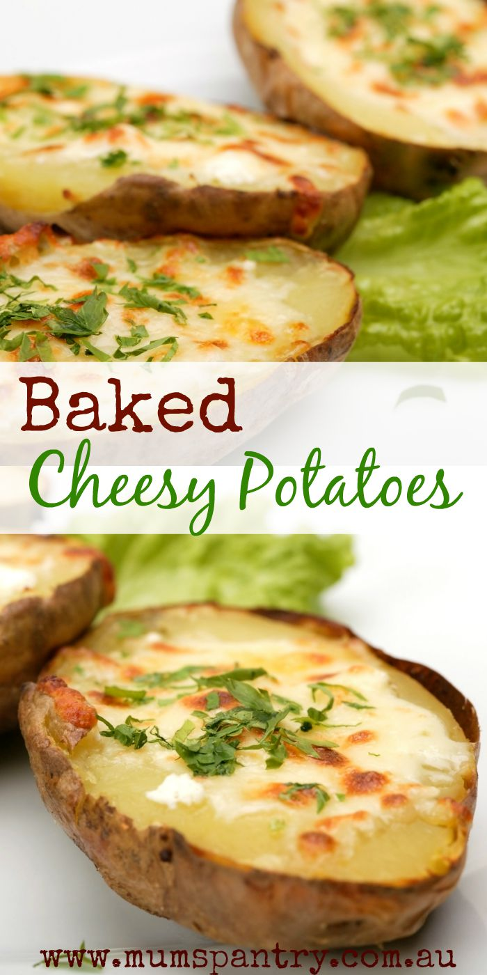 baked cheesy potatoes
