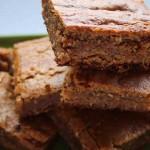 Caramel, Date and Walnut Slice