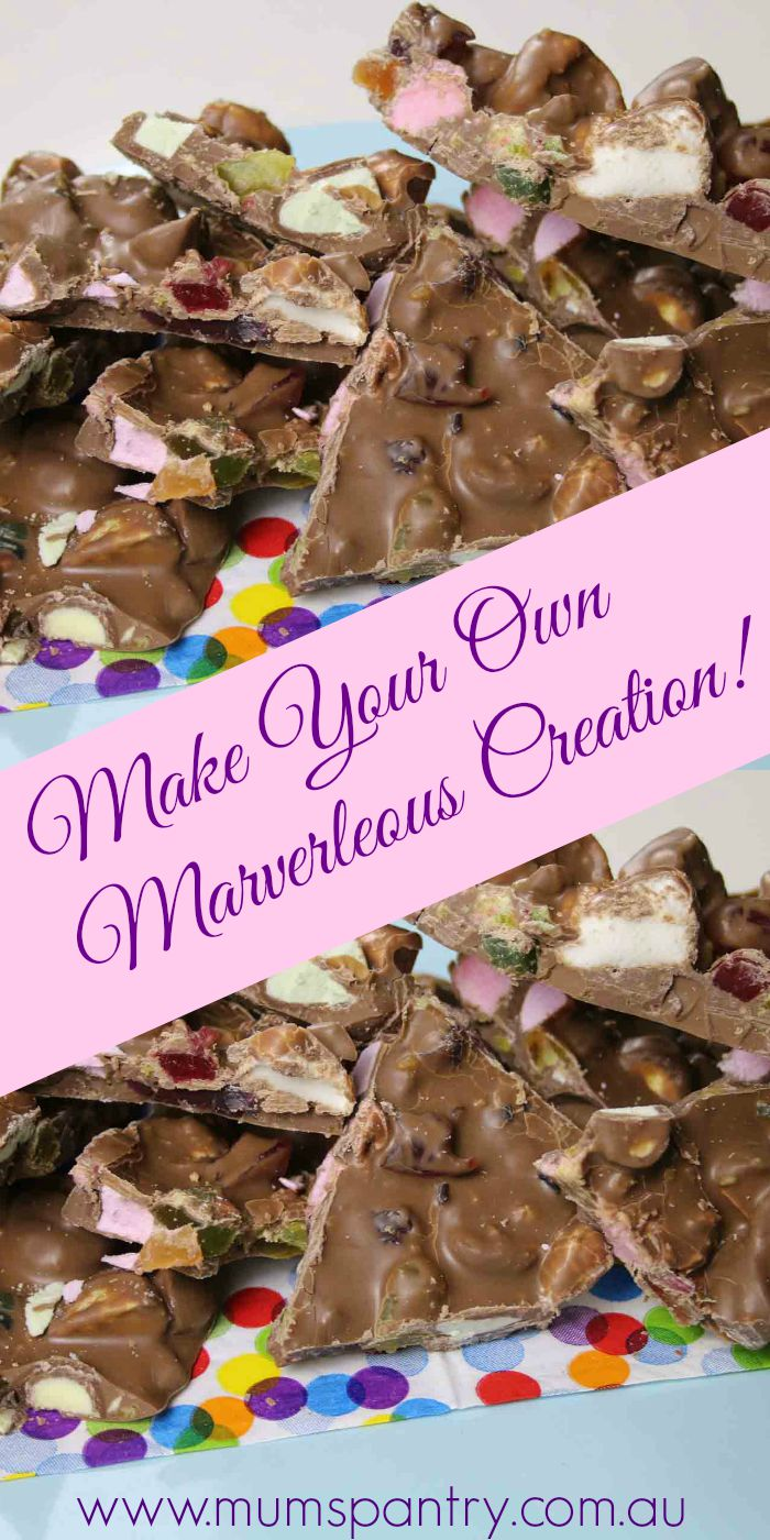 make your own marverlous creation