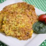 Gluten Free Corn and Zucchini Fritters