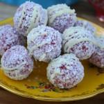 Red Velvet Cheesecake Balls