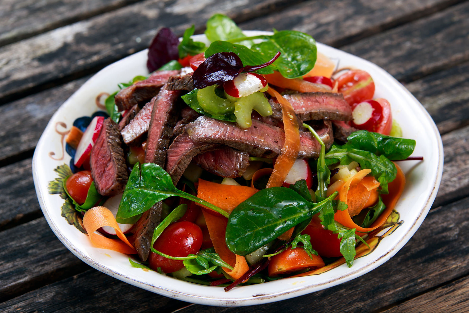 Marinated-Steak-Salad