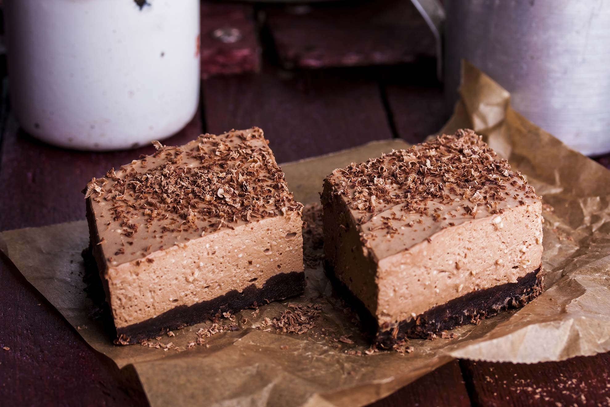 No-Bake Nutella Cheesecake - Mum's Pantry