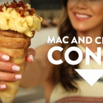 How to Make a Bacon Mac and Cheese Cone!