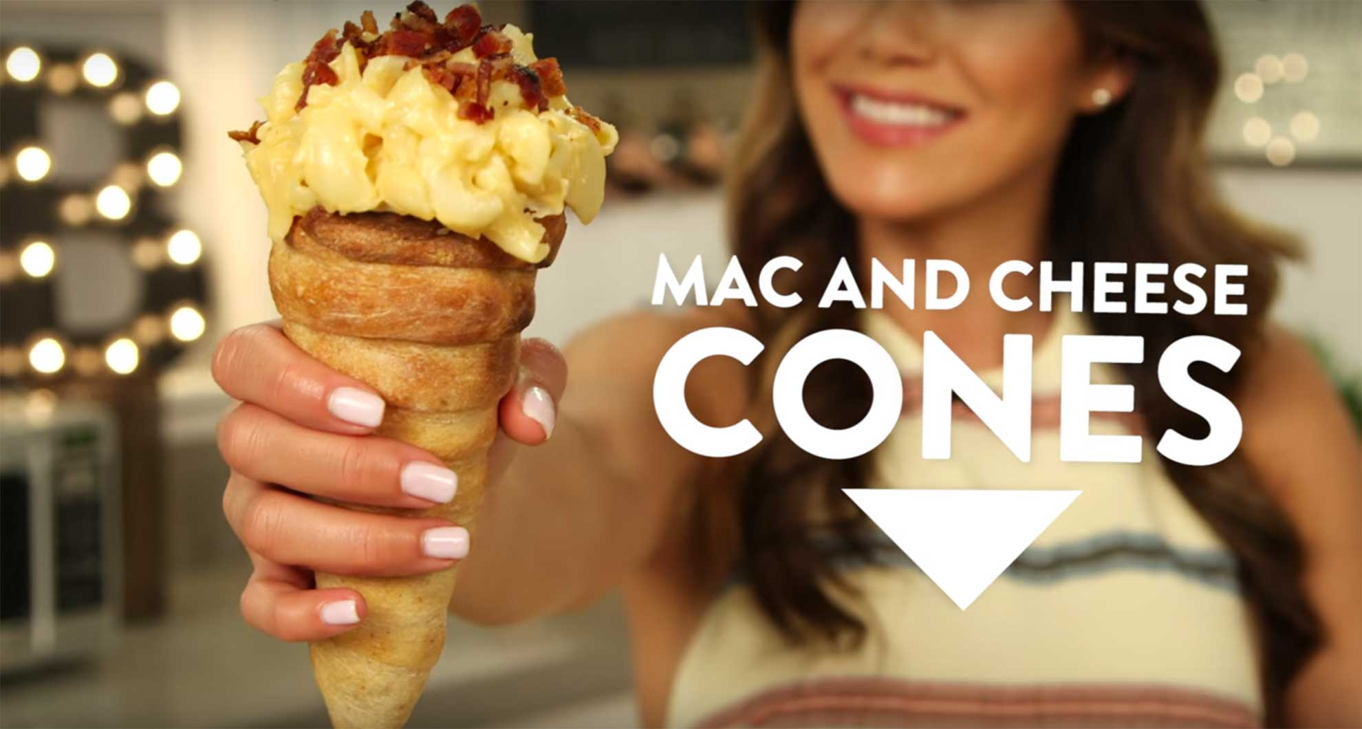 Bacon-mac-and-cheese-cones-2