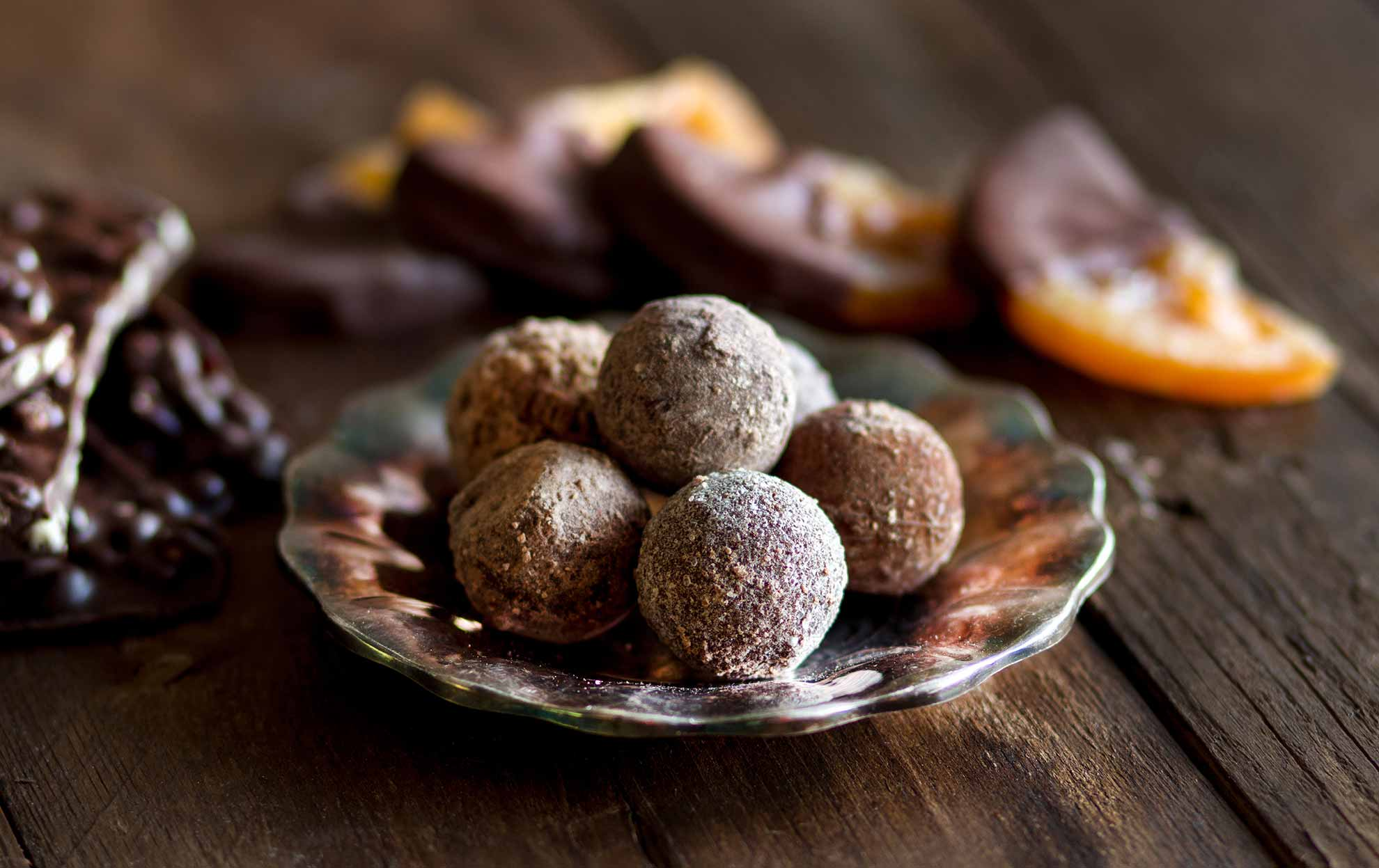 Chocolate and Orange Truffles - Mum's Pantry