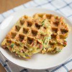 Zucchini Potato Waffles