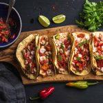 Prawn Tacos with Jalapeño Salsa