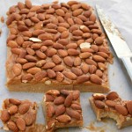 Almond and Caramel Slice