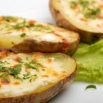 Baked Cheesy Potato's