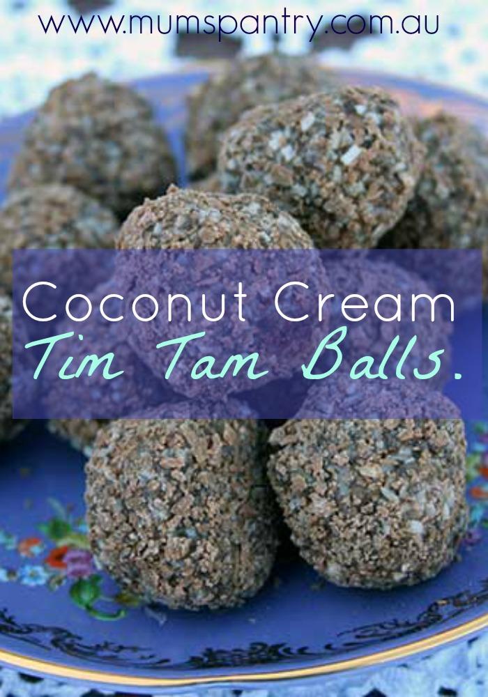coconut cream tim tam balls1