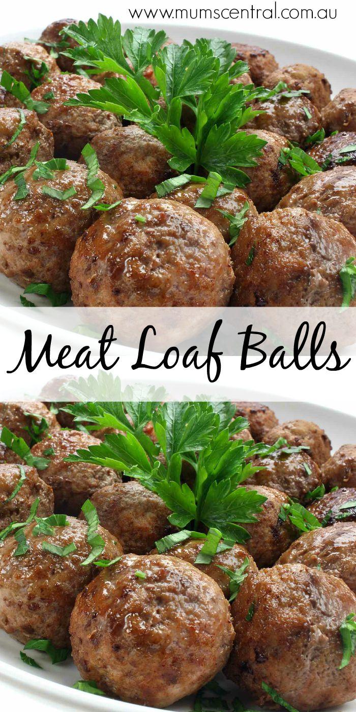 meat loaf balls