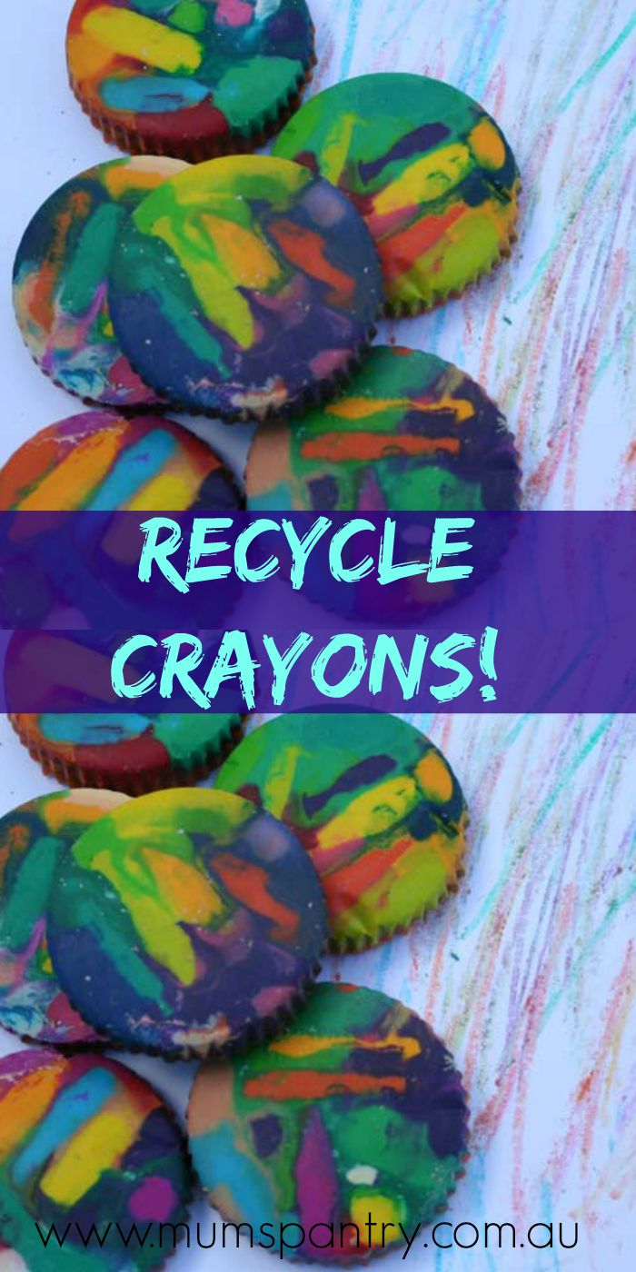 recylcle crayons