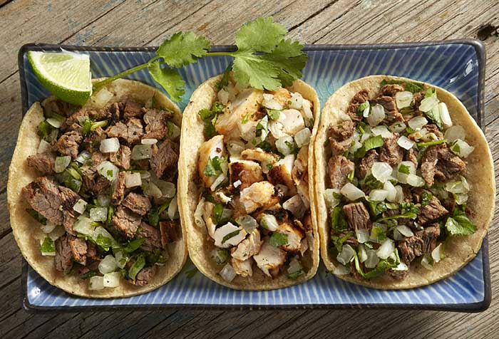 Chicken-and-Beef-Wraps