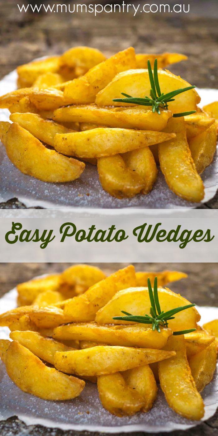 easy potato wedges