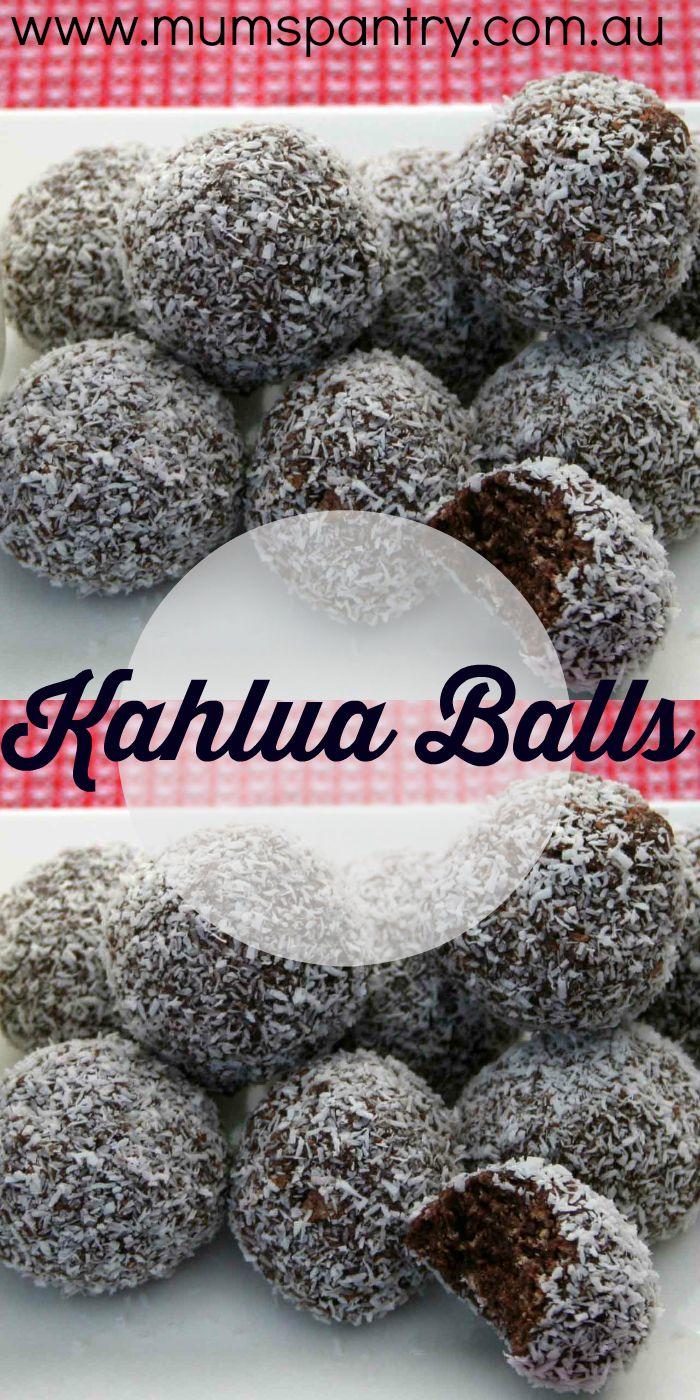 kahlua balls