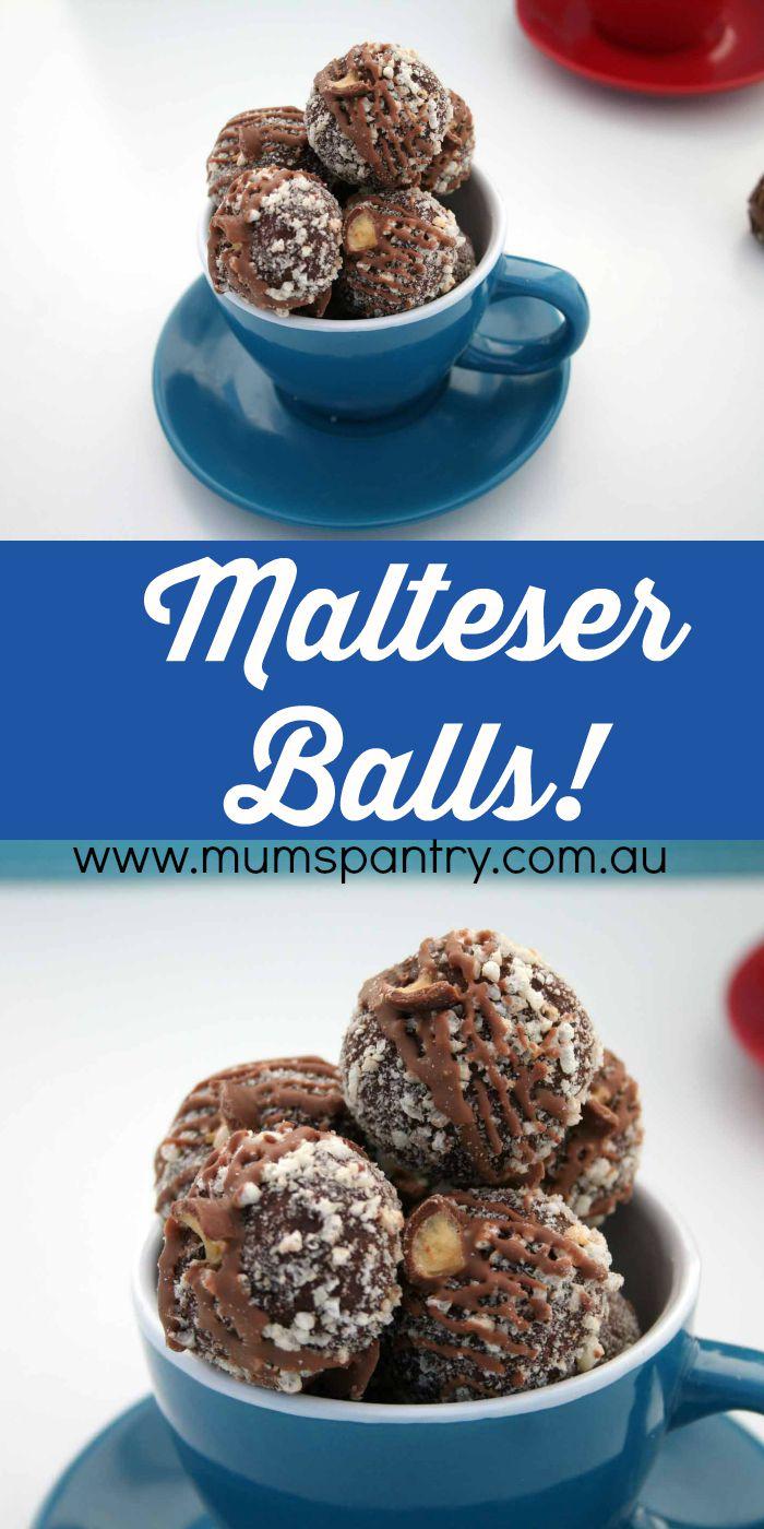 malteser chocolate balls