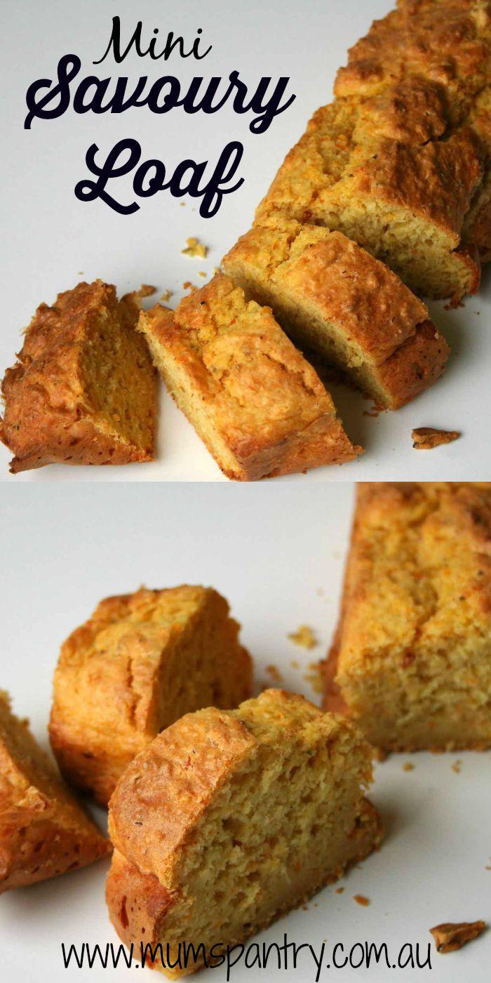 mini savoury loaf