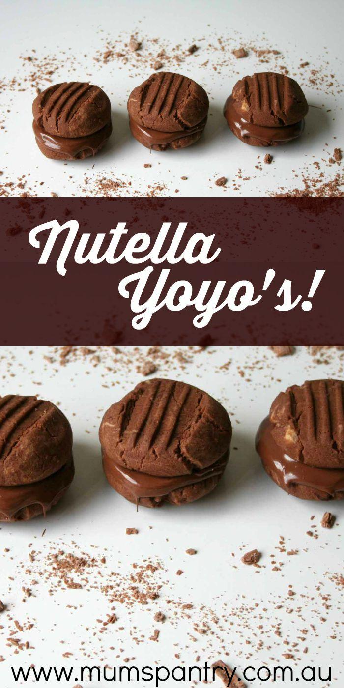 nutella yoyos