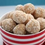 White Chocolate and Macadamia Tim Tam balls