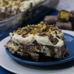 Chocolate Honeycomb Lasagne