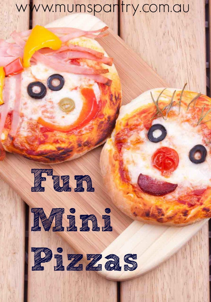 fun mini pizzas