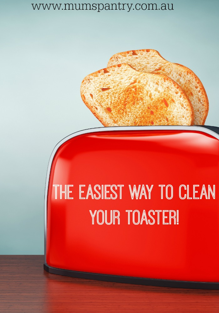 the easiest way to clean your toaster