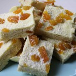 No Bake White Chocolate And Apricot Slice