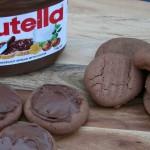 Nutella Cookies - Only 3 Ingredients!