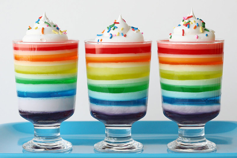 Rainbow-Jello