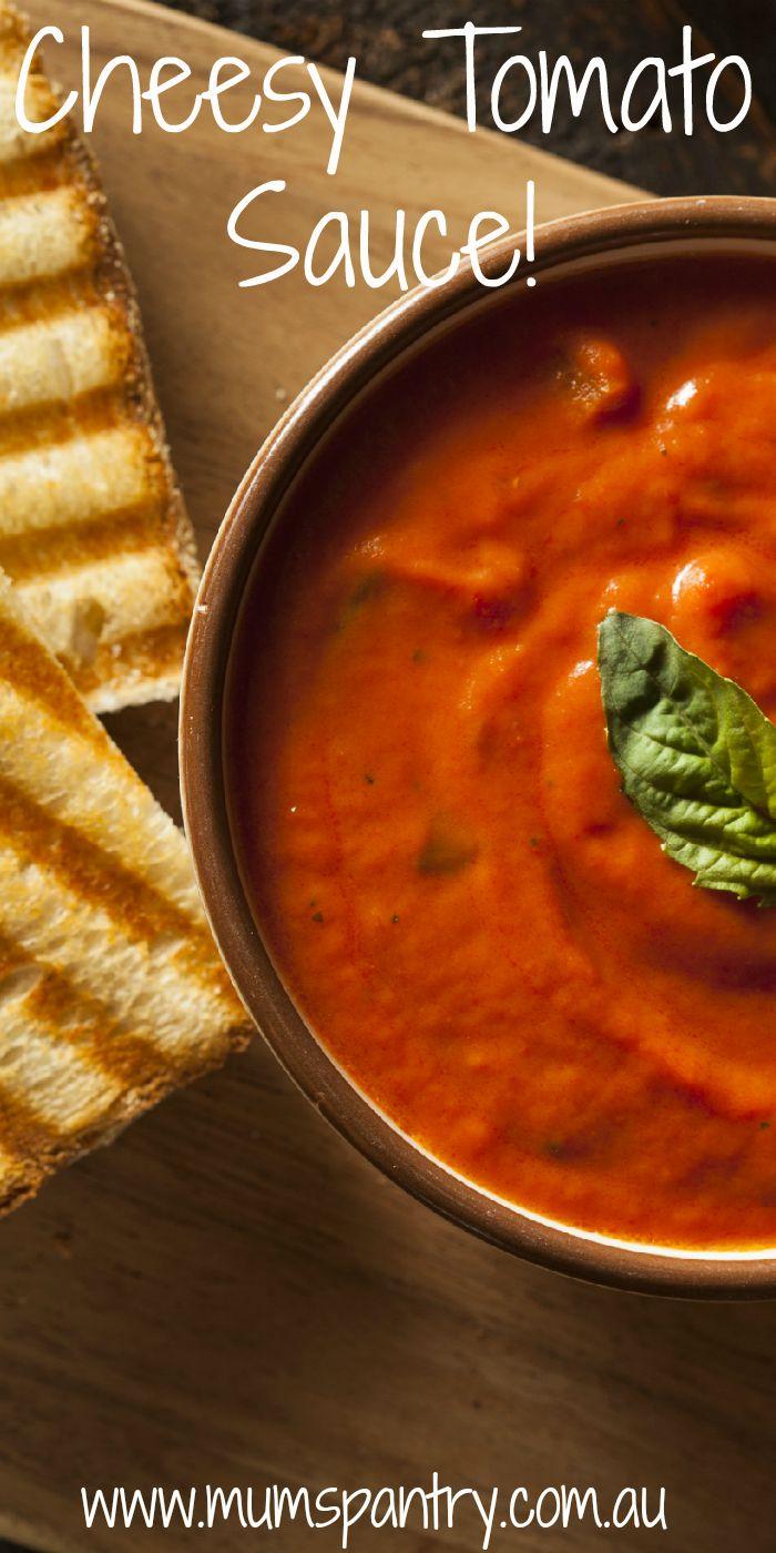 cheesy tomato soup