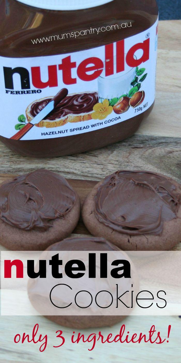 nutella cookies 1
