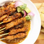 Slow Cooker Satay chicken