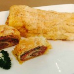 Vegetable, Bacon & Sausage Scroll