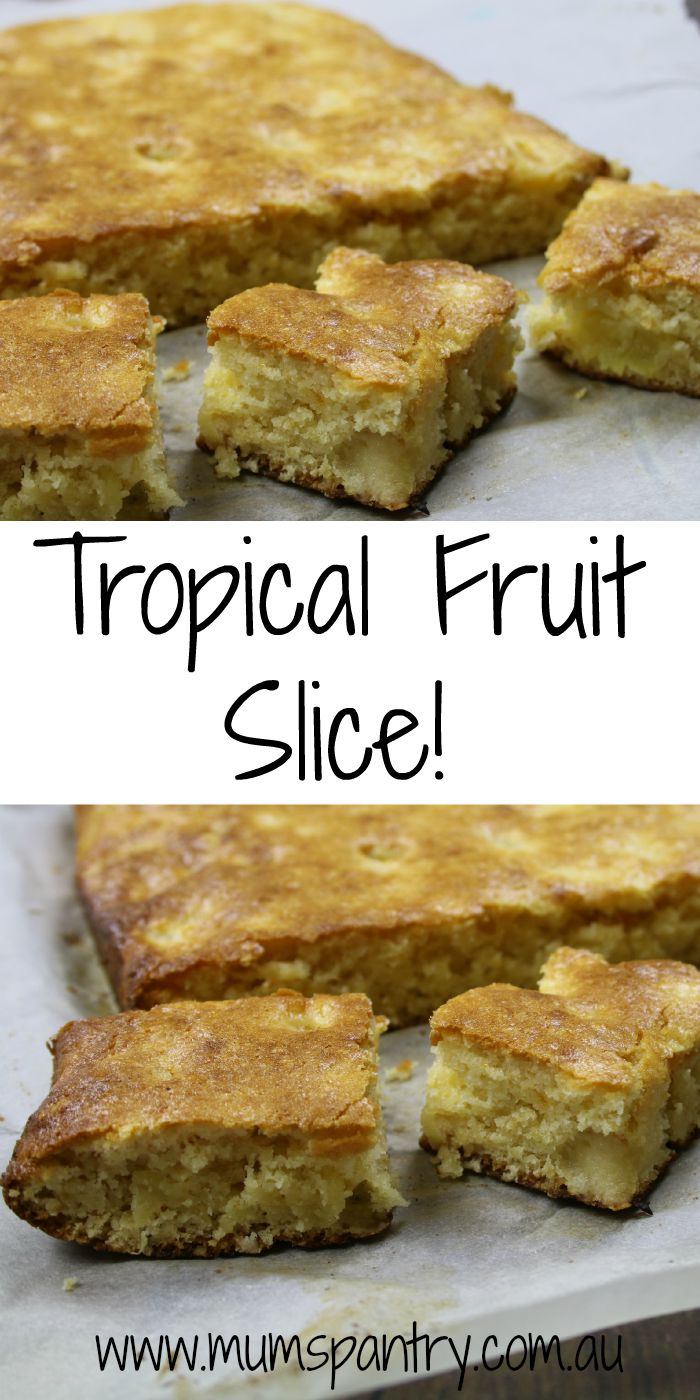tropical fruit slice