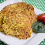Gluten Free Corn and Zucchini Fritters