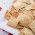 Simple Salted Gluten Free Crackers
