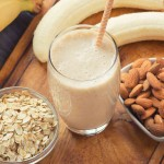 Banana, Almond and Oat Smoothie