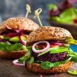 Beetroot and Quinoa burgers
