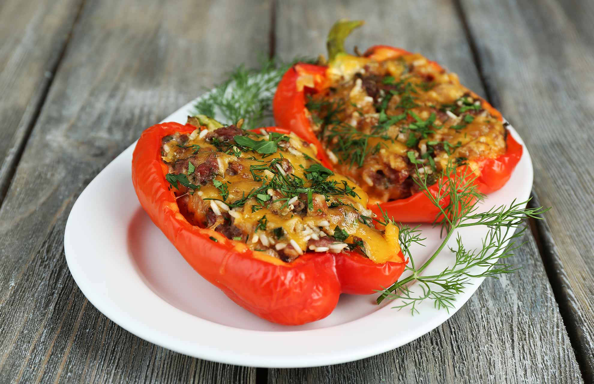 Stuffed-Capsicums