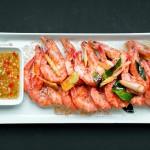 Thai Prawns with Dipping Sauce